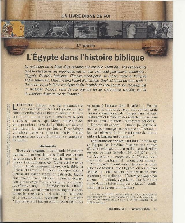 LES PUISSSANCES MONDIALES l'Egypte Numar122