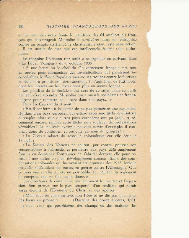 L'EGLISE ET MUSSOLINI Numar216