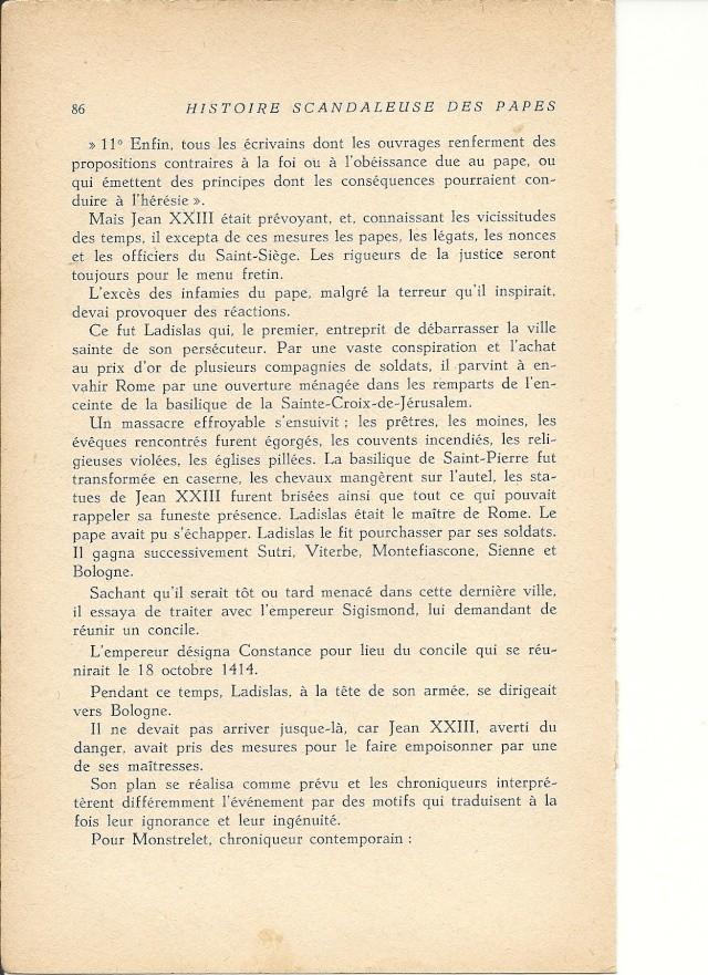 Suite et fin de l'histoire du pape jean XXIII (1410) Numari22