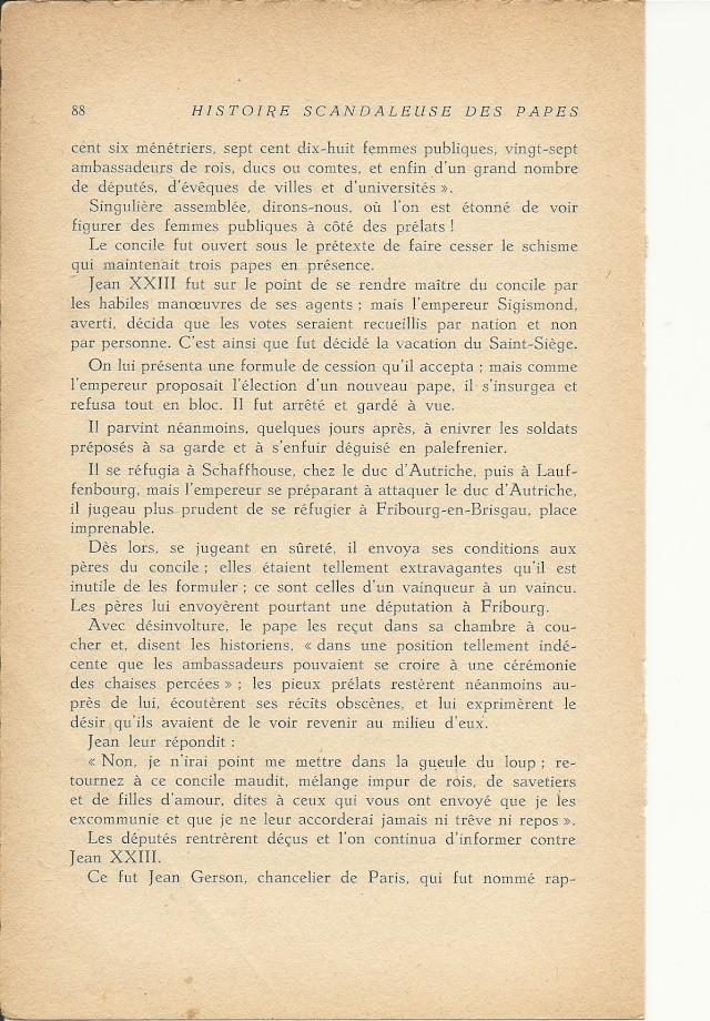 Suite et fin de l'histoire du pape jean XXIII (1410) Numari24