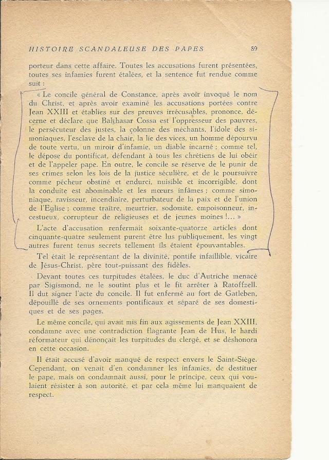 Suite et fin de l'histoire du pape jean XXIII (1410) Numari25