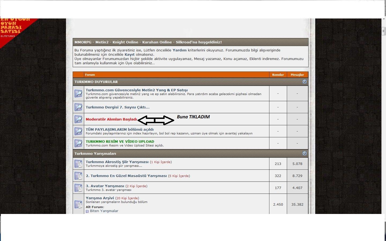 Sitede Forum Yerine Konu Nasıl Yapıcam ? Adsazt10