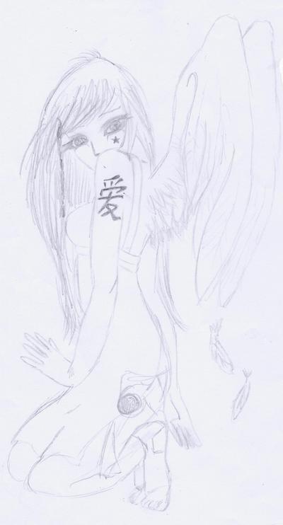 """Les dessins de Emma ^^ ( NEW :séance spécial """" profil """" Emma.W, Natalie.P, Ashley.O ) Angel10"""