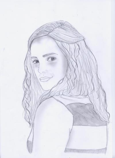 "Les dessins de Emma ^^ ( NEW :séance spécial "" profil "" Emma.W, Natalie.P, Ashley.O ) Hermio10"