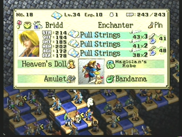 The Ogre Battle 64 Item Index Heaven10