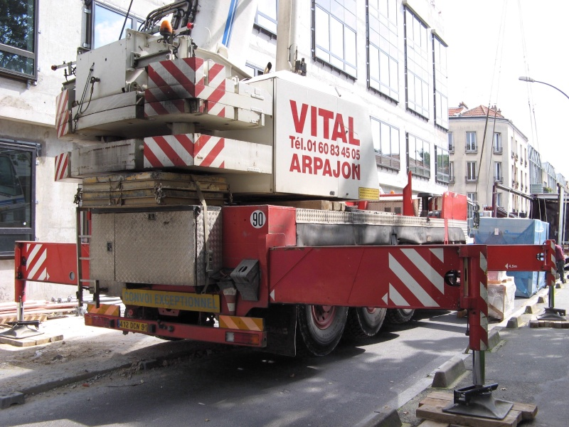 Les grues de VITAL (Groupe FOSELEV) (France) 510