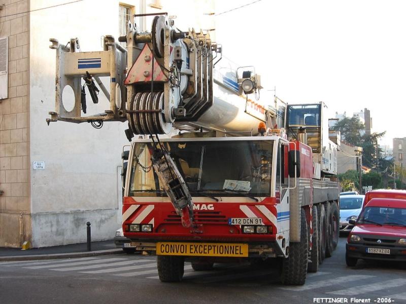 Les grues de VITAL (Groupe FOSELEV) (France) Octobr11