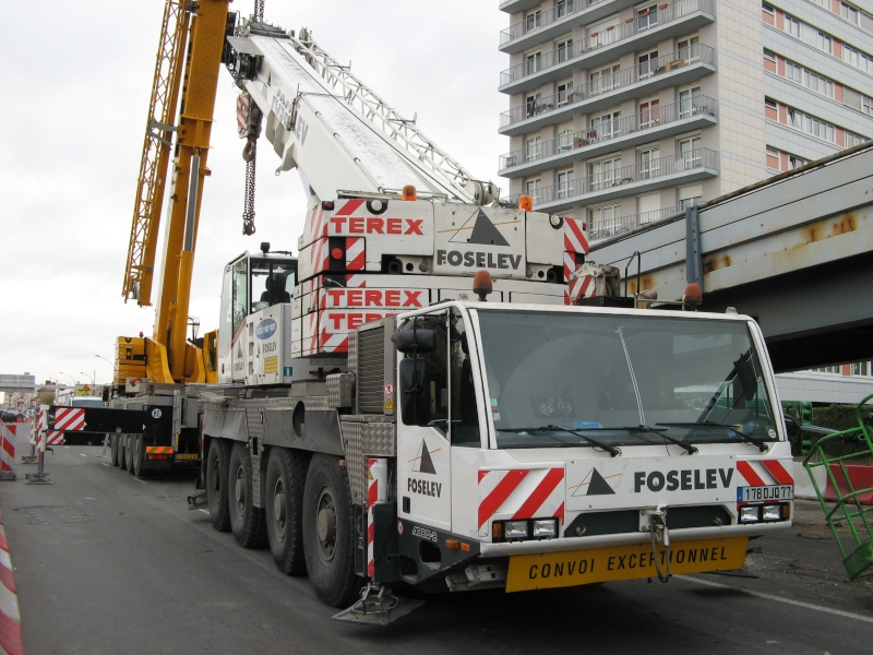 Les grues de FAL INDUSTRIE (Groupe FOSELEV) (France) Photo105