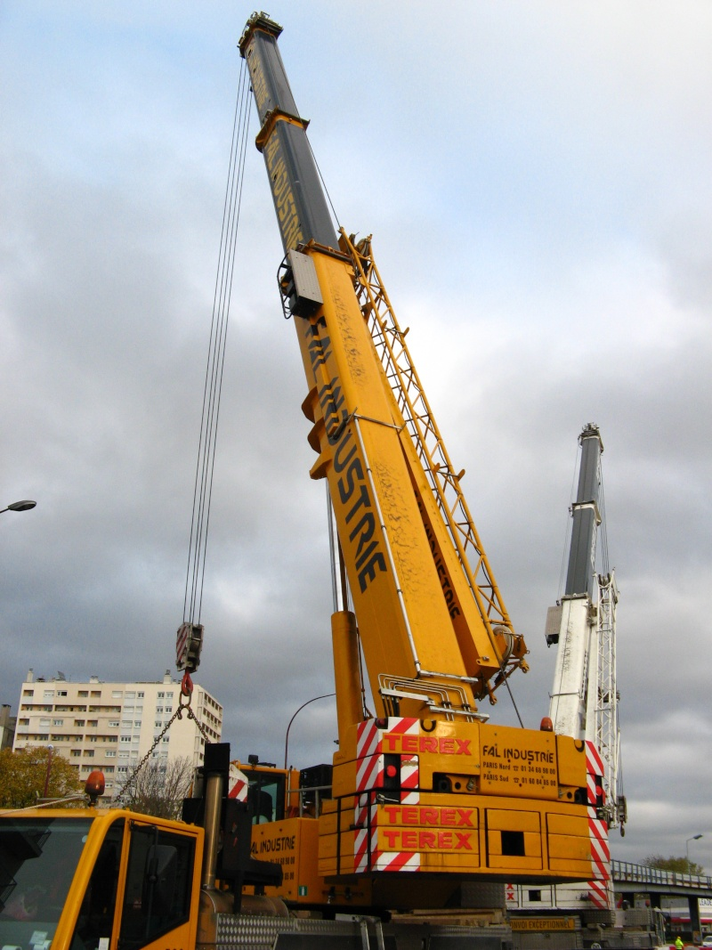 Les grues de FAL INDUSTRIE (Groupe FOSELEV) (France) Photo106