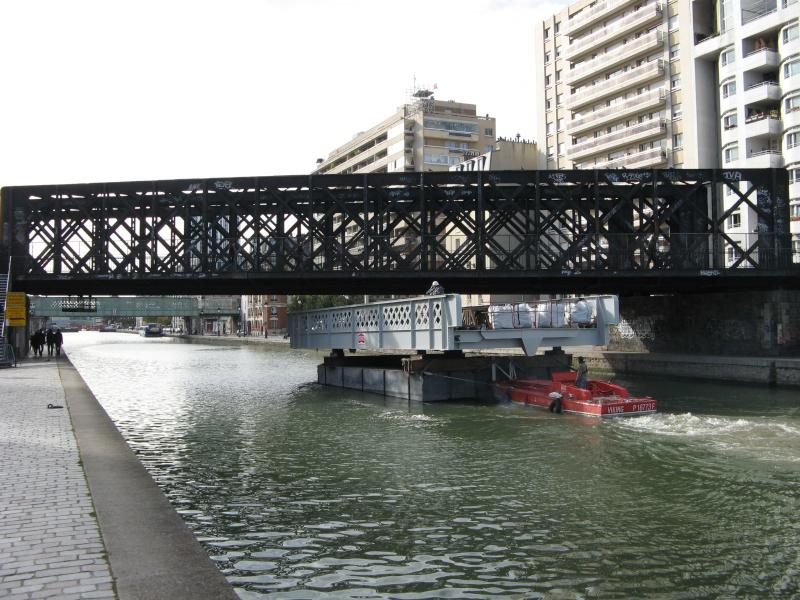 Renovation du pont levant à Crimée (Paris 19e) Photo_48