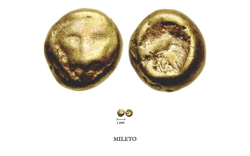Vers l'origine de la monnaie frappée Mileto11