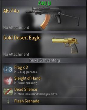 Weapons 74u10
