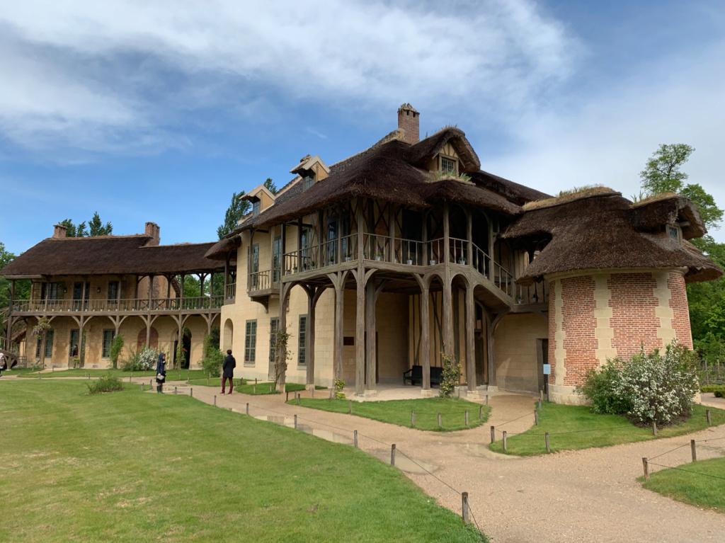 Hameau du Petit Trianon : Restauration de la maison de la Reine  - Page 19 112