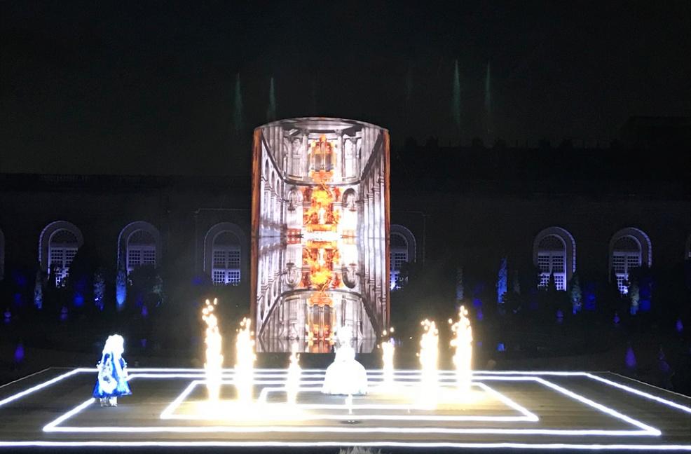 Marie-Antoinette, le destin d'une reine. Spectacle pyrotechnique, Orangerie du château de Versailles  1210