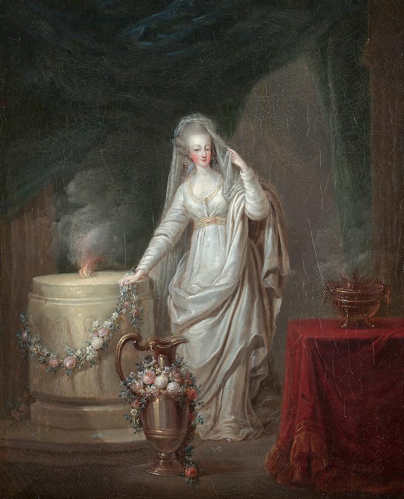 Portraits de Marie-Antoinette et de la famille royale par Charles Le Clercq - Page 3 15275710