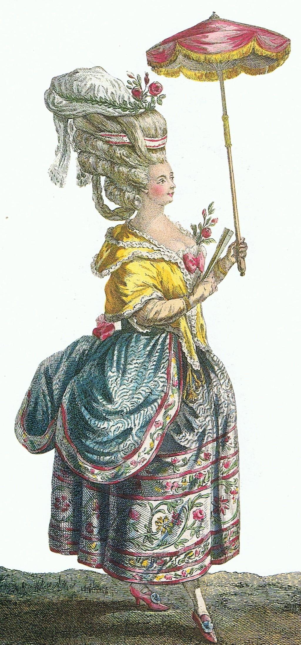 Ombrelle ayant appartenu à la reine Marie-Antoinette 18th-c10
