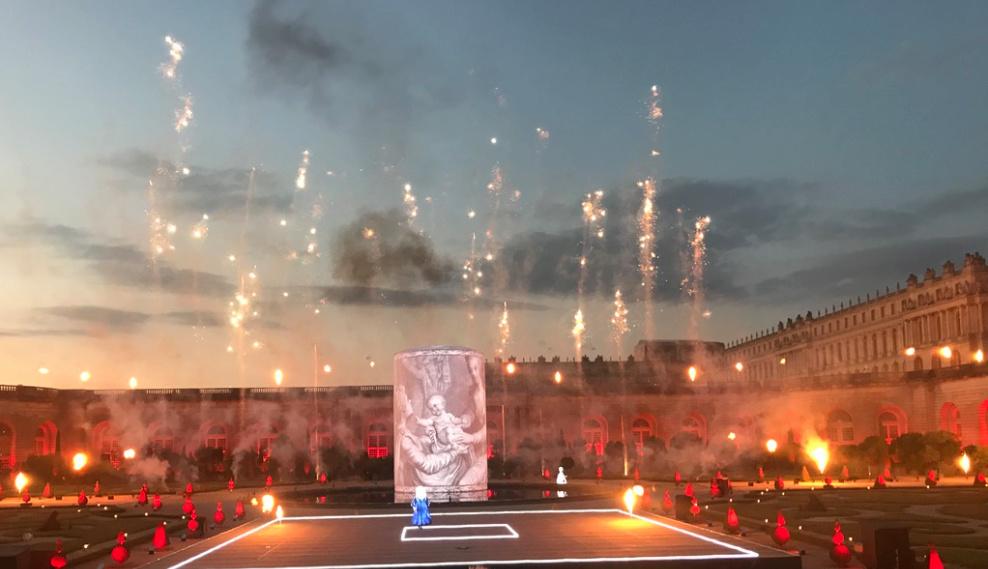 Marie-Antoinette, le destin d'une reine. Spectacle pyrotechnique, Orangerie du château de Versailles  210