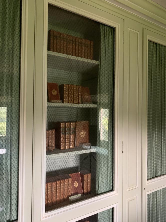 bibliothèque - La visite du Petit Trianon: Bibliothèque 213