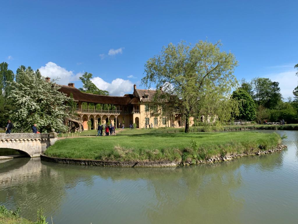 Hameau du Petit Trianon : Restauration de la maison de la Reine  - Page 19 3510