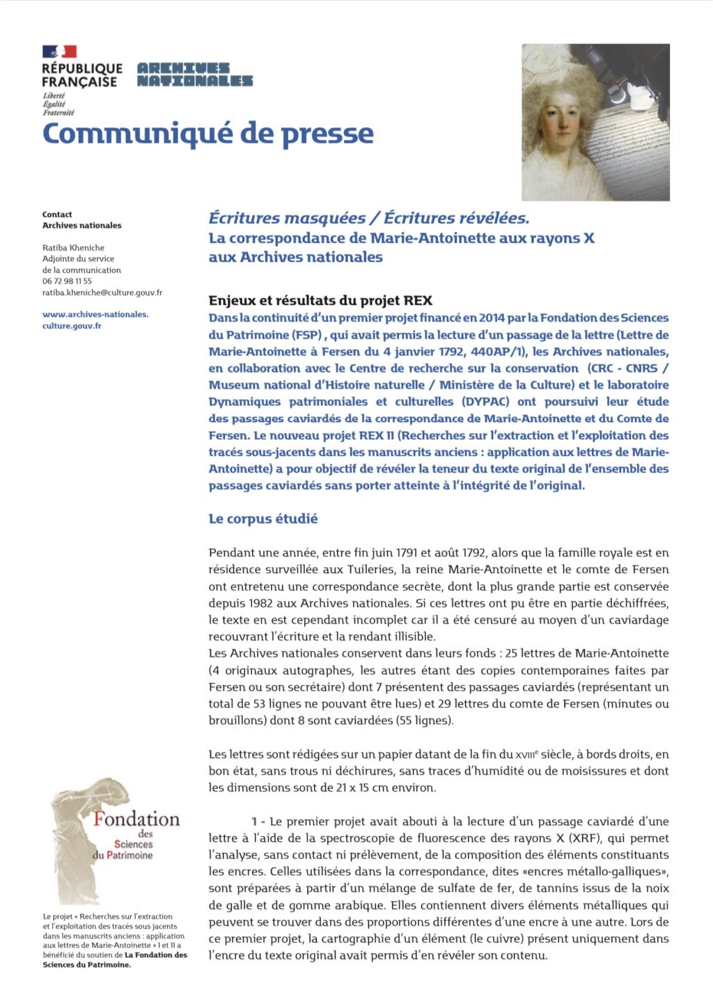 Nouveaux résultats du décaviardage de la correspondance de Marie-Antoinette et Fersen (Archives nationales) - Page 4 36d6f910