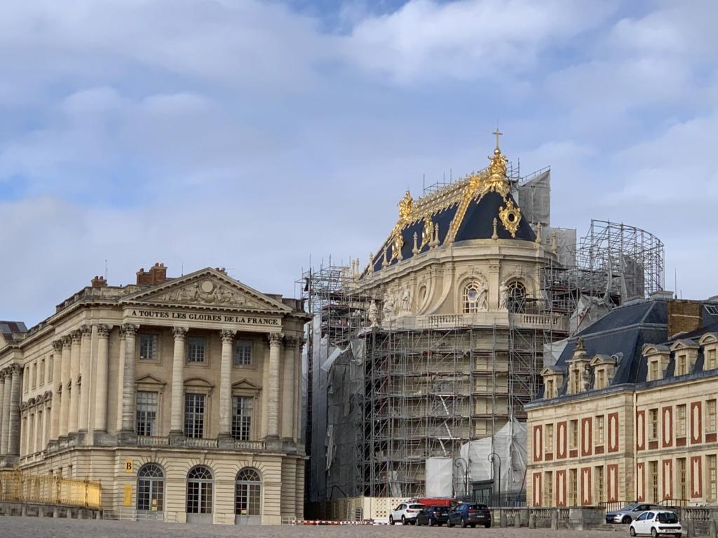 Balade à Versailles et Trianon au temps du Covid  4457ef10