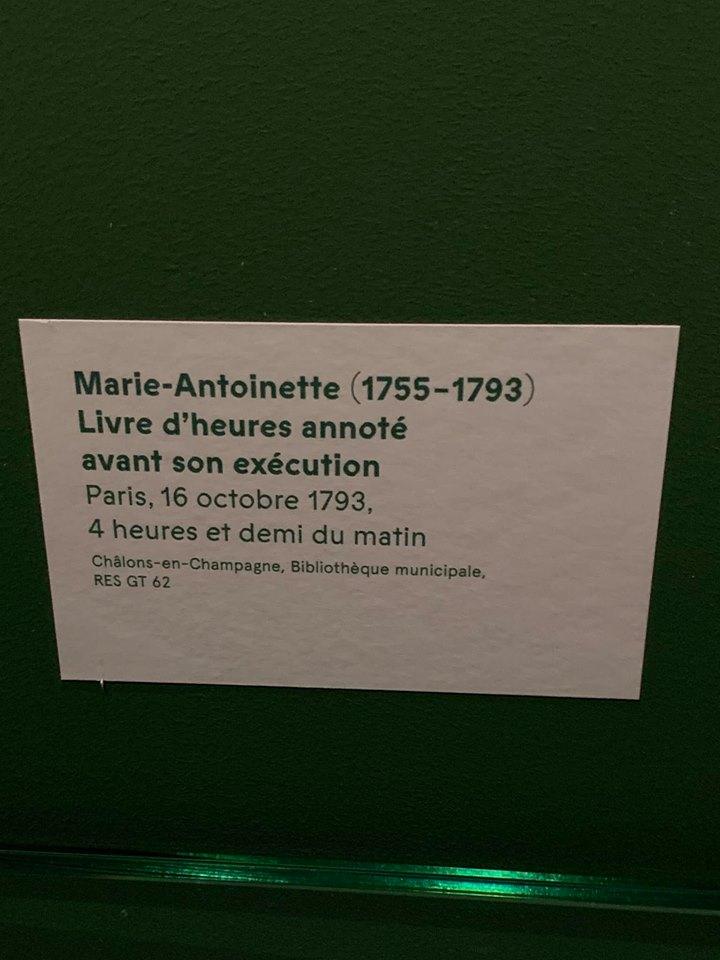 billet - Le billet du 16 octobre 1793 attribué à la reine  56845610