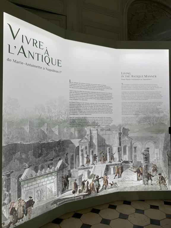 """Exposition """" Vivre à l'antique, de Marie-Antoinette à Napoléon Ier """" - Château de Rambouillet 6cb1bf10"""