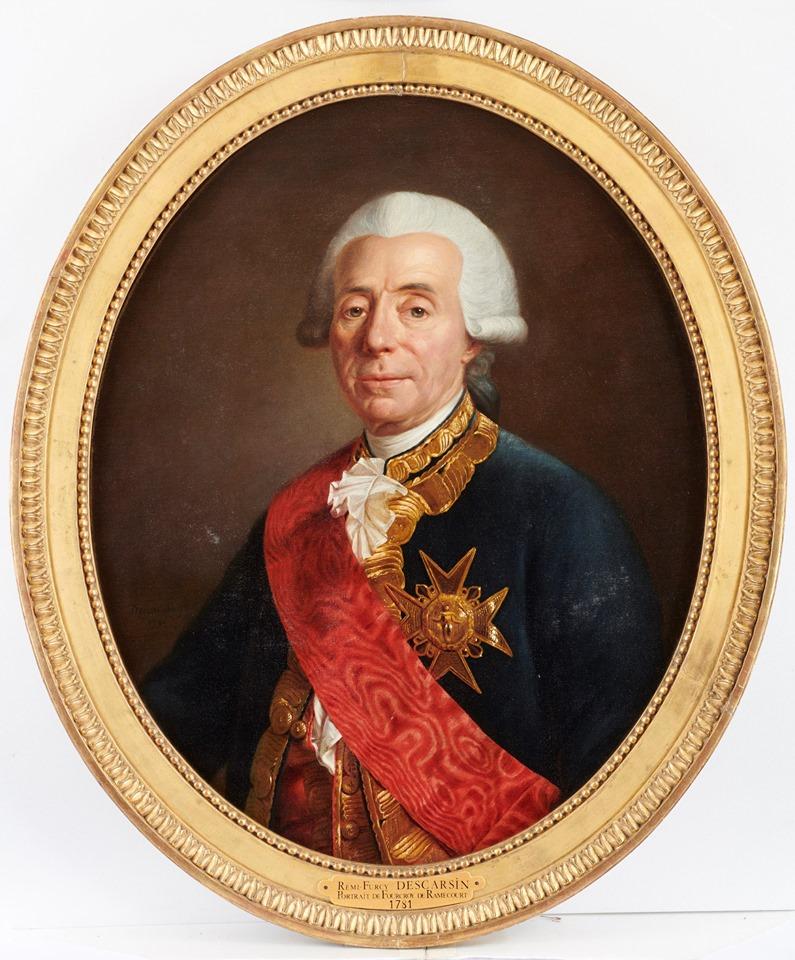 Cent portraits pour un siècle. Exposition au Musée Lambinet (Versailles) et Palais Lascaris (Nice) 73081910