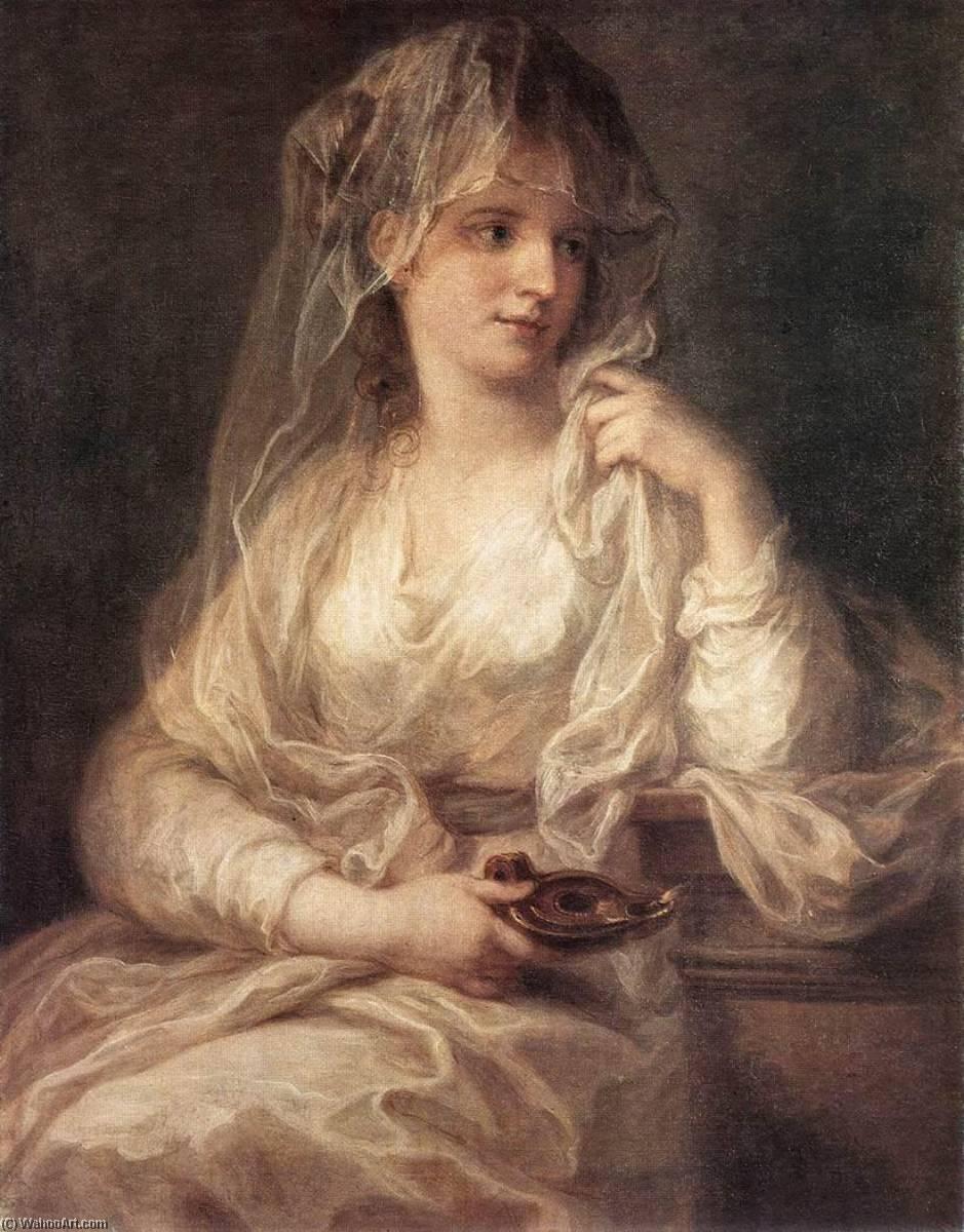 Portraits du roi Ferdinand IV et de la reine Marie-Caroline par Angelica Kauffmann Angeli12