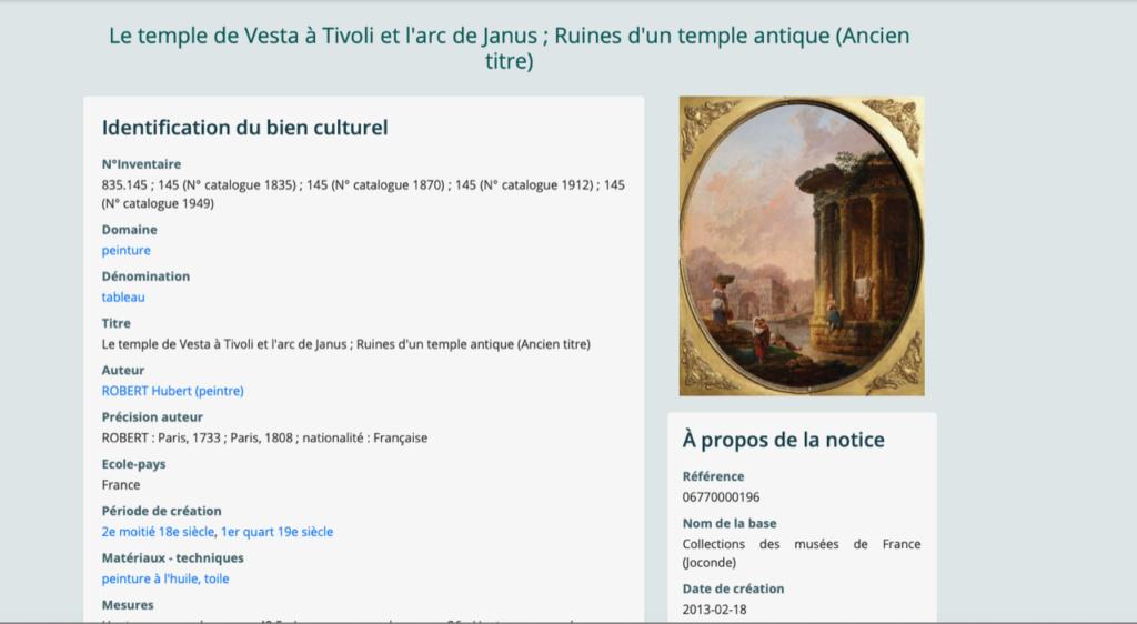 Hubert Robert et le XVIIIe siècle C0c4d710