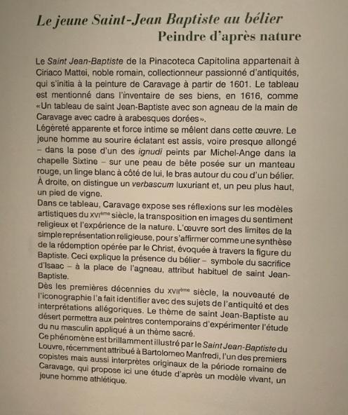 Exposition : Caravage à Rome, amis & ennemis Captu105