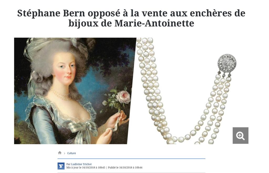 Bijoux de Marie-Antoinette : perles et diamants des Bourbon-Parme - Page 4 Captu118