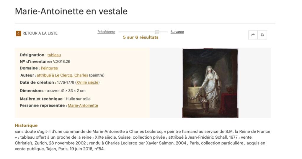 Portraits de Marie-Antoinette et de la famille royale par Charles Le Clercq - Page 3 Captu156