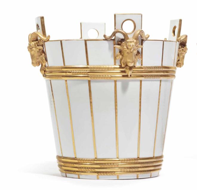 Service de Marie-Antoinette pour Rambouillet en porcelaine de Sèvres Captu159