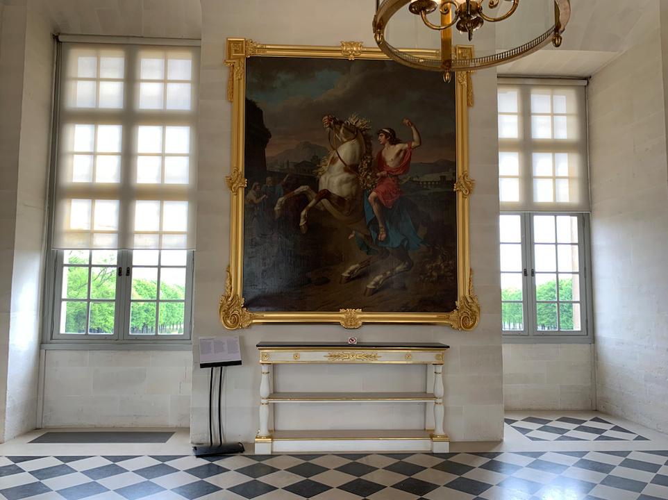 Le château de Maisons, résidence du comte d'Artois  Captu189