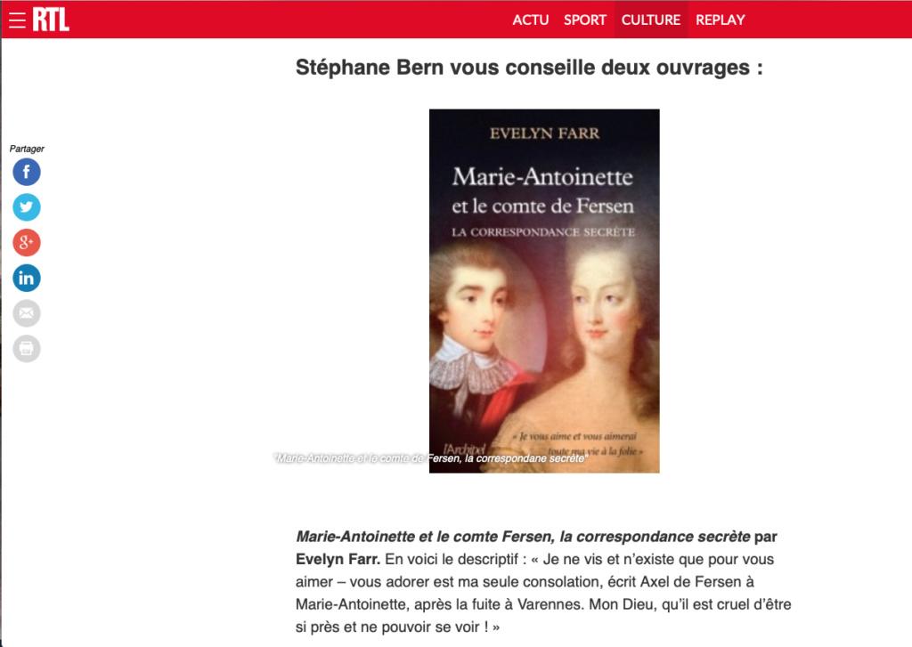 farr - Marie-Antoinette et le comte de Fersen, la correspondance secrète, d'Evelyn Farr - Page 6 Captu200