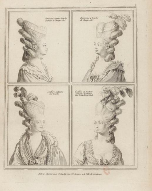 La Galerie des Modes et Costumes Français Captu222