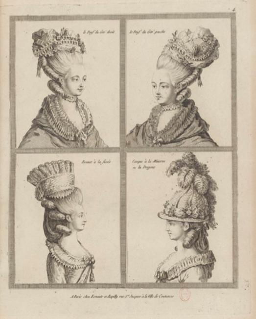 La Galerie des Modes et Costumes Français Captu224