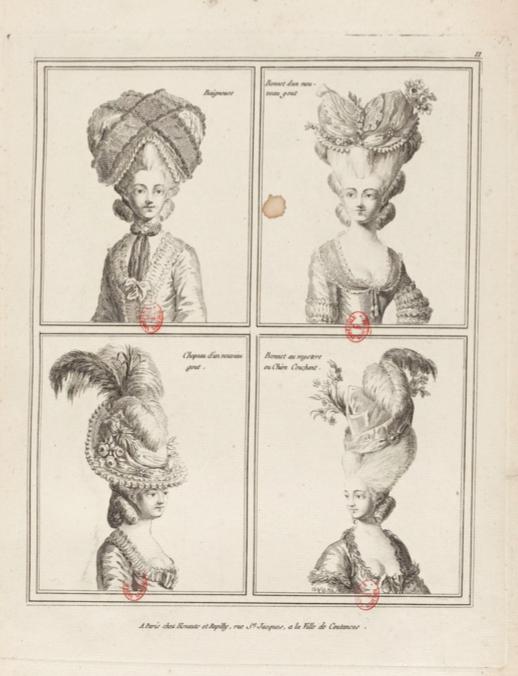 La Galerie des Modes et Costumes Français Captu230