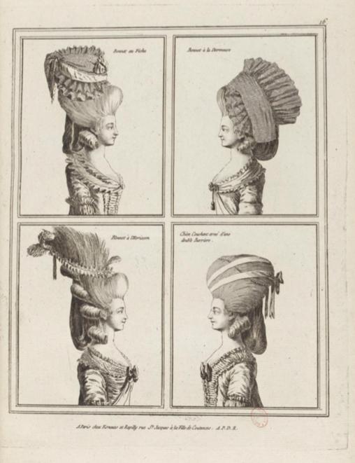 La Galerie des Modes et Costumes Français Captu236