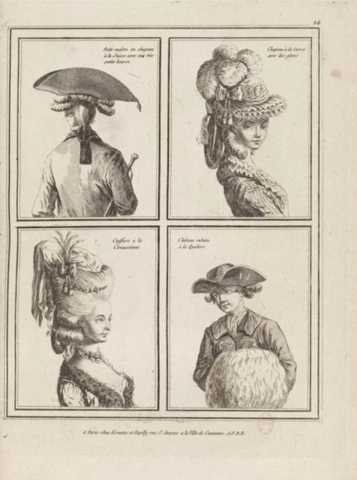 La Galerie des Modes et Costumes Français Captu243