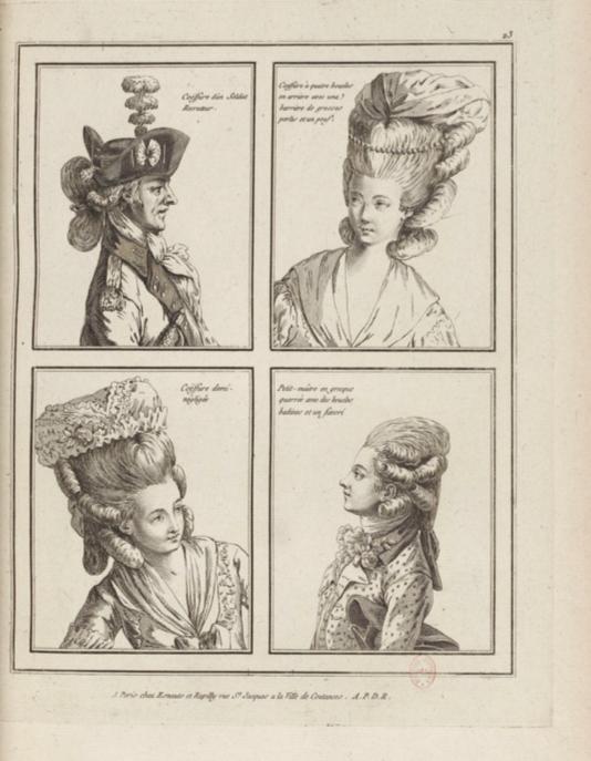 La Galerie des Modes et Costumes Français Captu244