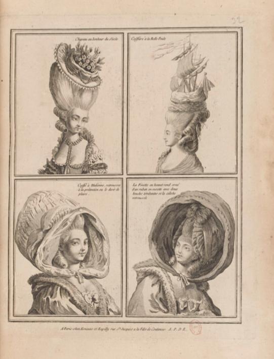 La Galerie des Modes et Costumes Français Captu253