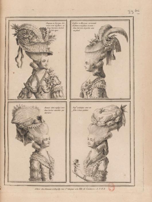 La Galerie des Modes et Costumes Français Captu254