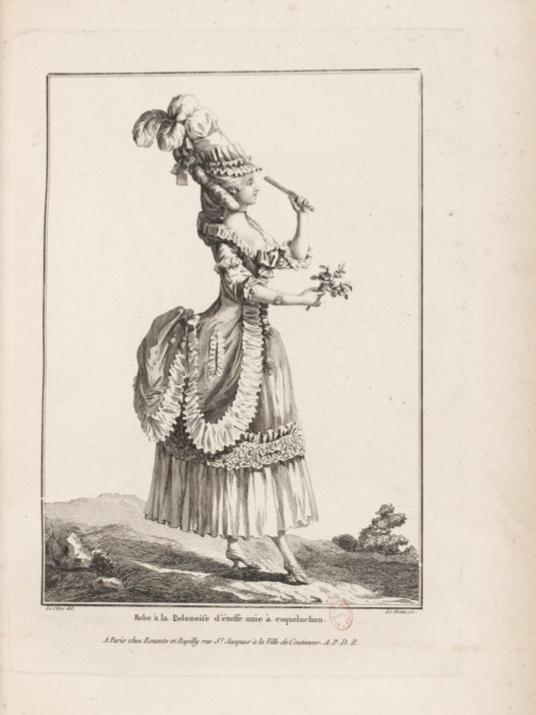 La Galerie des Modes et Costumes Français Captu259