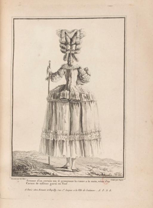La Galerie des Modes et Costumes Français Captu268
