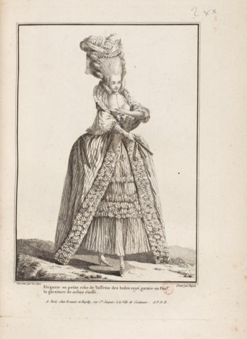 La Galerie des Modes et Costumes Français Captu271