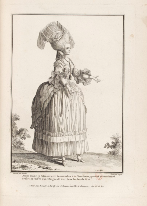 La Galerie des Modes et Costumes Français Captu276