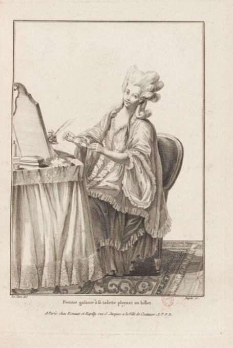 La Galerie des Modes et Costumes Français Captu279