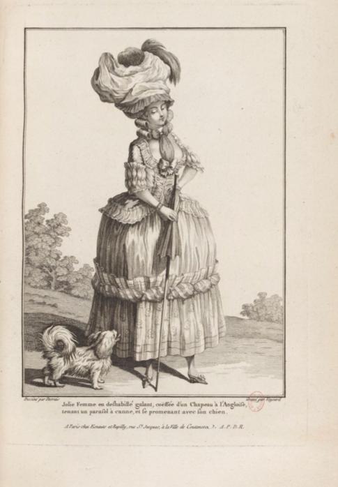 La Galerie des Modes et Costumes Français Captu284
